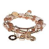 Jiuyuan Fashion Women's Bracelet Set Charm Beads Bracelet Jewelry