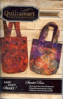 Smart Bag Pattern (Quiltsmart Smart Bag Pattern with Interfacing)