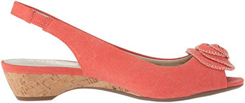 Klein Pump Women Orange Medium Sandal Harietta Fabric Anne Dress ASZwqAd