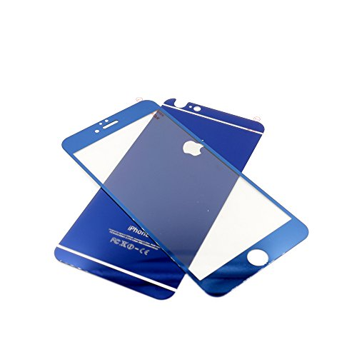 Tempered Glass Screen Protector for Apple iPhone 6 Plus 6s Plus Set of 2 - 9