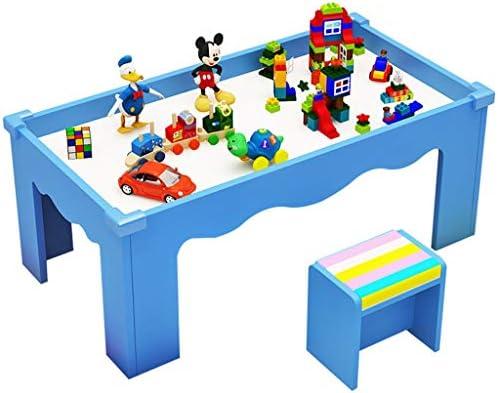 Juegos de mesas y sillas Mesa de Madera para niños Mesa de Juegos ...