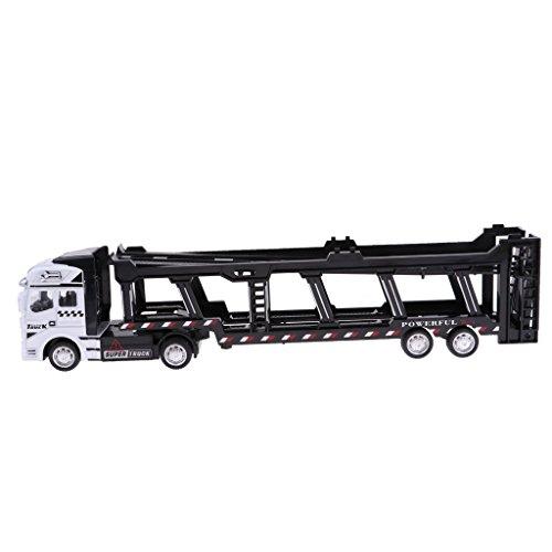 Perfk 1:48スケール 合金 トランスポーターモデル 子供 模型玩具 全2選択 - #2の商品画像