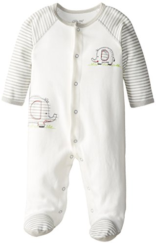 Little Me Baby-Boys Newborn Elephant Footie