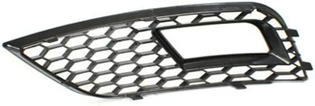 2013-2016 Non-S-Line//Non-S4 TopPick 8K0807681-8K0807682-85FV Black Open Mesh Grille Grill FOR Audi A4 B8.5