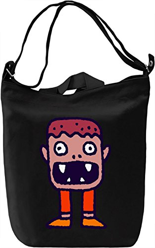 Creature Borsa Giornaliera Canvas Canvas Day Bag| 100% Premium Cotton Canvas| DTG Printing|