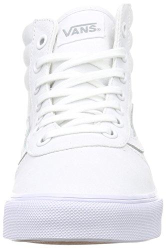 Vans Milton Hi - Zapatillas Mujer Blanco (canvas/white/white)