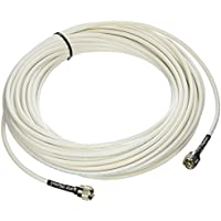 MPD Digital RG8x-W-PL259-75ft Antenna Cable RF CB & AIS Mini-8 Coaxial Jumper Silver Teflon PL-259 75