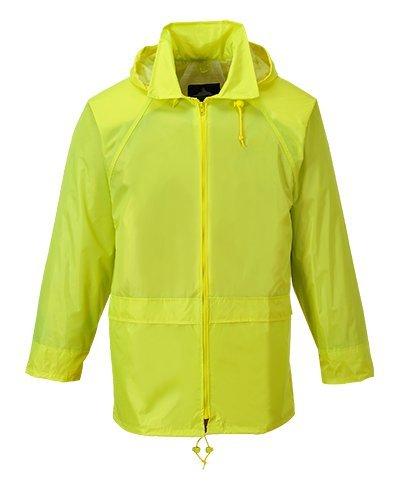 Portwest Rain Jacket, Yellow, 4XL