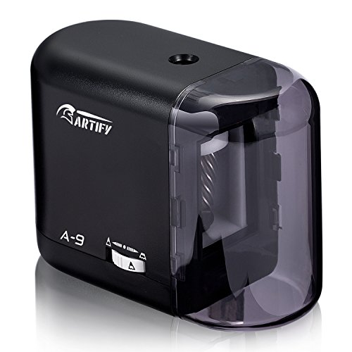 Artify Electric Pencil Sharpener-Auto Stop-Battery Or Ac Adapter Operated-Great for Various Types of Pencils...