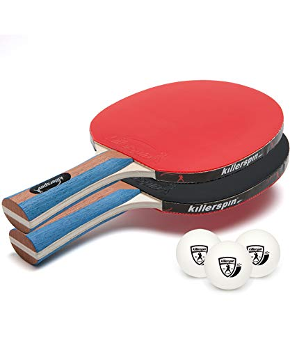 Killerspin JETSET 2 Table Tennis Paddle Set with 3 Balls 110-07