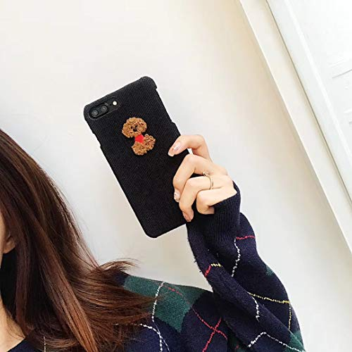 Candy iPhone Xs Max Case 3D iPhone Xs Max Case Best iPhone Xs Max Case Battery Case for iPhone Xs Max Battery iPhone Xs Max Case Cactus iPhone Xs Max Case Camera Case for iPhone (Poodle, iPhone 7 8)