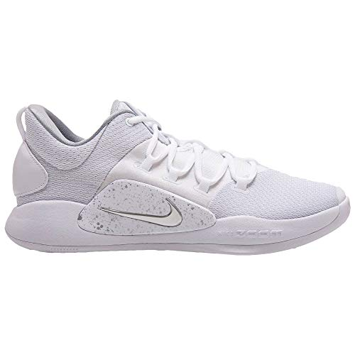 sports shoes f07fa 7d057 Galleon - Nike Men's Hyperdunk X Low Basketball Shoe AR0464-100  White/White-Pure Platinum 13.5 D(M) US
