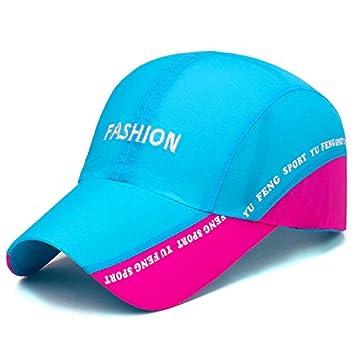 ZCLD Chapeau de Soleil pour Hommes et Femmes de la Mode Sportive Chapeau Occasionnel de Voyage en Plein air randonnée Casquette d'été 100% Coton Taille réglable Douce