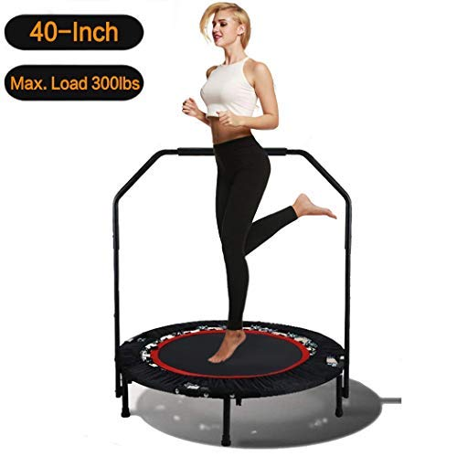 iBalanu 40 Inch Mini Exercise Trampoline- The Best Mini Trampoline for Exercises