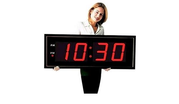 Grande Digital LED reloj - Gigante 8