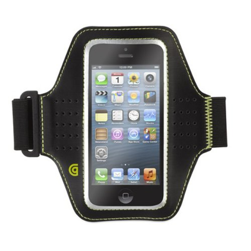 (Griffin GB36033 Trainer for iPhone 5 and iPod touch 5 - Retail Packaging - Black)