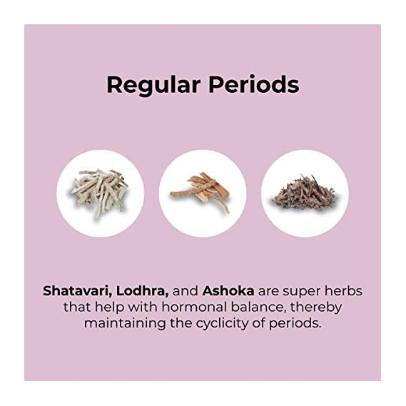 &Me PCOS PCOD Tea Green Tea for Hormonal Balance, Weight Management, Regular Periods - with Ayurvedic Herbs and
