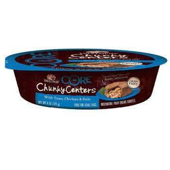 Wellness Core Chunky Centers Tuna, Chicken & Kale