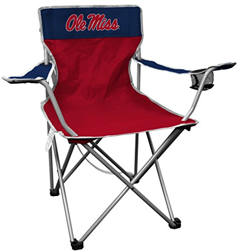 NCAA Portable Folding Kickoff Chair with Cup Holder and Carrying Case