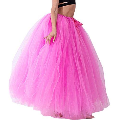 Come Linnuo Con Petticoat Tulle Party Lunga Donna Sottogonna Festa Gonna In Per 8 Immagine Fiocco Tutu lc5TFJ3Ku1