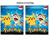 Best Bag For Parties - Pokemon Pikachu Friends Loot Treat Favor Bags Birthday Review