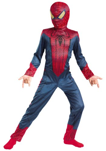 [Disguise Inc - The Amazing Spider-Man Classic Toddler Costume - 3T/4T] (The Amazing Spider Man All Costumes)