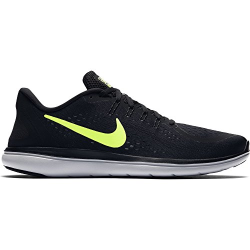 017 Running Shoe Black/Volt/Wolf Grey Size 12 M US ()