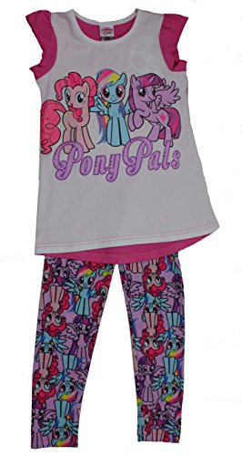 Girls My Little Pony 2-Piece Legging and Tunic Set (6X) ()