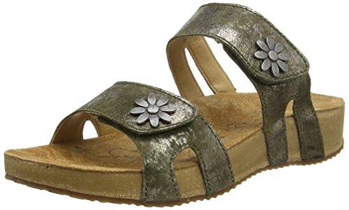 Josef Seibel Tonga 04 - Sandalias Mujer verde oliva