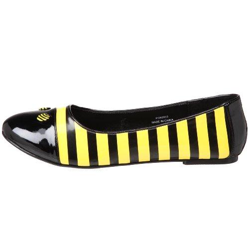 Basse Donna Blk Pat Scarpe yellow Funtasma 5pwqx6EW