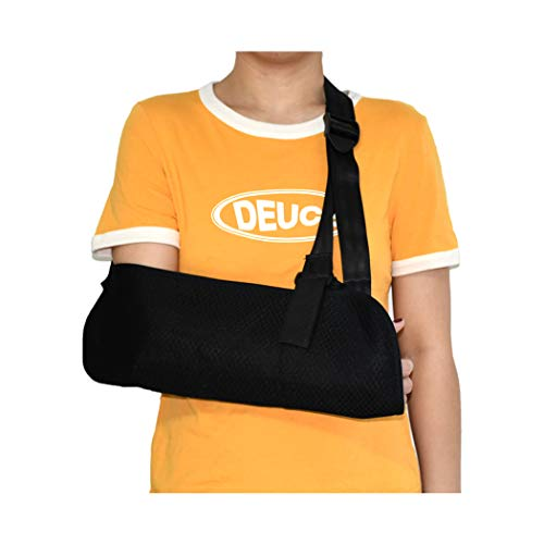 Arm Sling for Child and Tollders Extra Small, Adjustable Padded Shoulder Immobilizer for Broken Collarbone, Fractured Bones, Rotator Cuff Surgery (Extra Small)