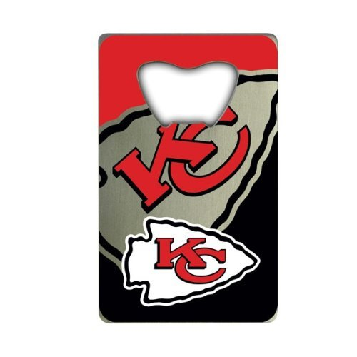 NFL Kansas City Chiefs Credit Card Style Bottle Opener]()