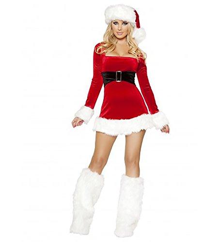 Sexy Santas Saint Womens Adult Costumes - Sexy Women's 1pc Santa's Saint Christmas