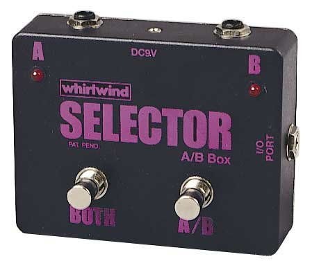 Whirlwind Selector Instrument Switch Channels A and B or Select Both, 1 Meg Ohm Impedance In/Out ()