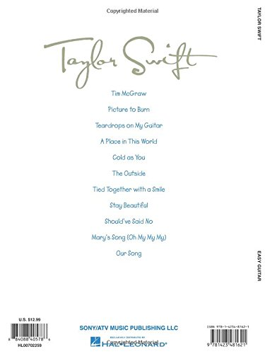 Amazon Taylor Swift For Easy Guitar Easy Guitar With Notes