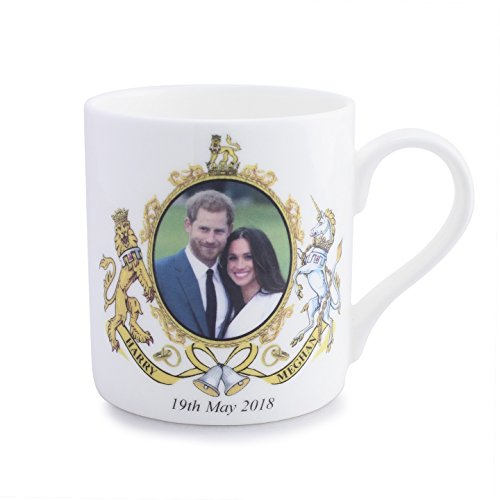 - Meghan Markle and Prince Harry Wedding Coffee Mug 10 oz. Bone China UK Import