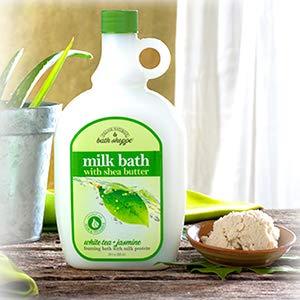Village Naturals Bath Shoppe, Milk Bath, White Tea and Jasmine, 28 Fl Oz, Pack of 2
