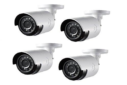 Lorex LBV2531W 1080p HD Analog Bullet Security Camera 4-Pack Vandal Resistant Corner