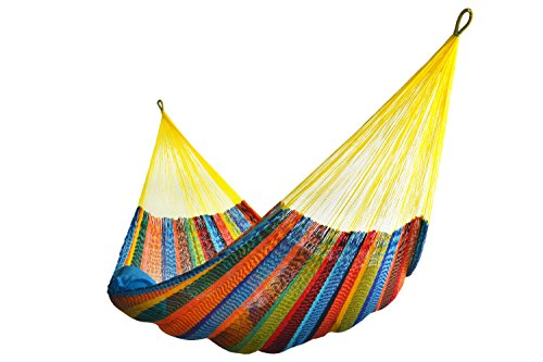Mexican Hammock (Hammocks Rada TM - Jumbo Size MULTICOLOR - Largest Hammock by UPS in 2 Days at Door)