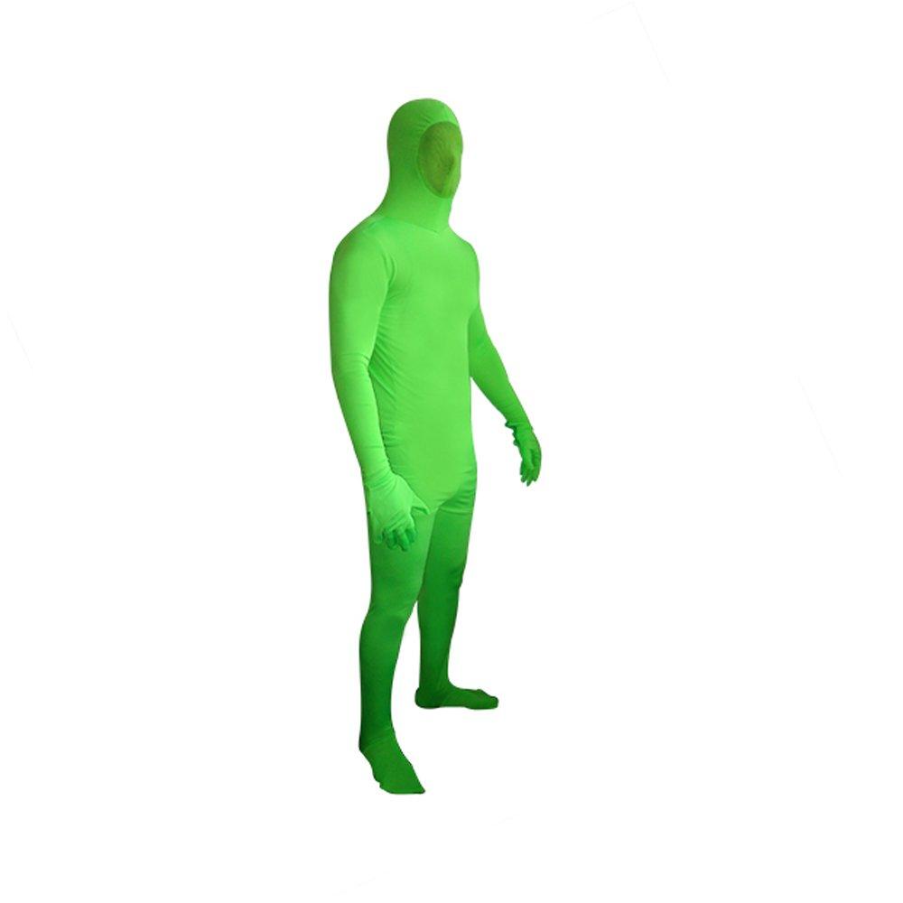 Amazon.com: Chroma clave traje de cuerpo, color verde ...