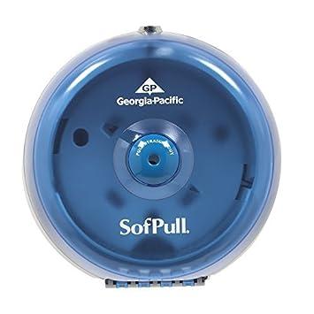 SofPull 56514 Mini Splash azul de alta capacidad Dispensador Centerpull Papel higiénico