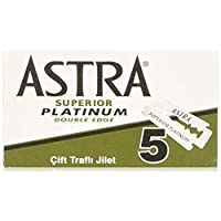Amazon.com deals on 100-Count Astra Platinum Double Edge Safety Razor Blades