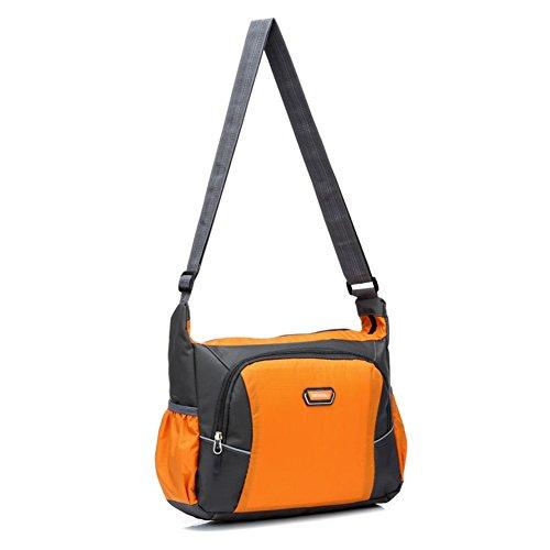 bandoleras para hombres y mujeres/bolso de hombro inclinado/Paquetes de ocio y deportes/Paquete de estudiante impermeable al aire libre del-C C