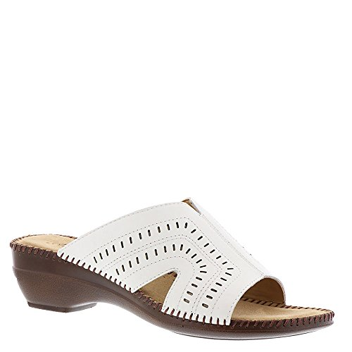 Auditions Kelly Womens Sandal White