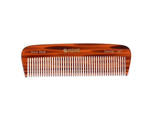 Kent The Hand Made Thick Comb for Men, 5 Inch, 1 Ounce