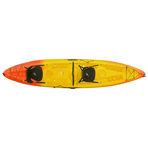 Ocean Kayak Malibu Two XL Tandem Kayak Sunrise, One Size