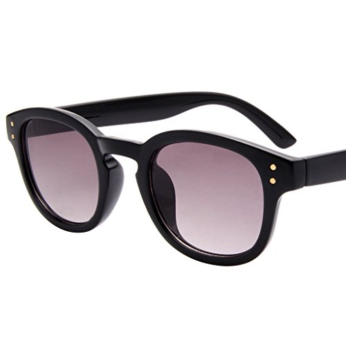 LIANSAN Wayfarer Non-Polarized Classic Retro Sunglasses for Women Grey - Shell Real Glasses Tortoise