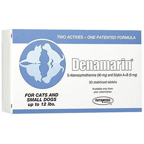 NEW! Denamarin for Cats and Small Dogs up to 12 lb (300 Tabs)