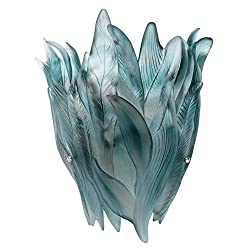 Crystal Blue Grey Wall Lamp