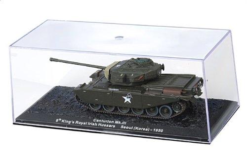 1:72 IXO モデルs Altaya AV043 ROF Centurion ダイキャスト モデル ブリティッシュ アーミー 8th King's Irish Hussars Seoul 韓国 1